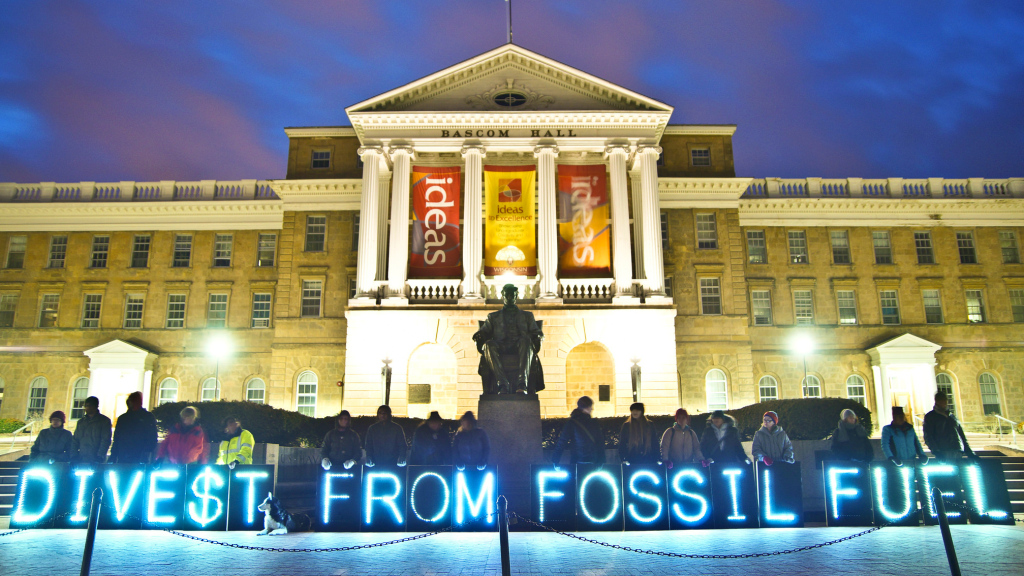 Fossil fuel companies nervous as divestment movement grows