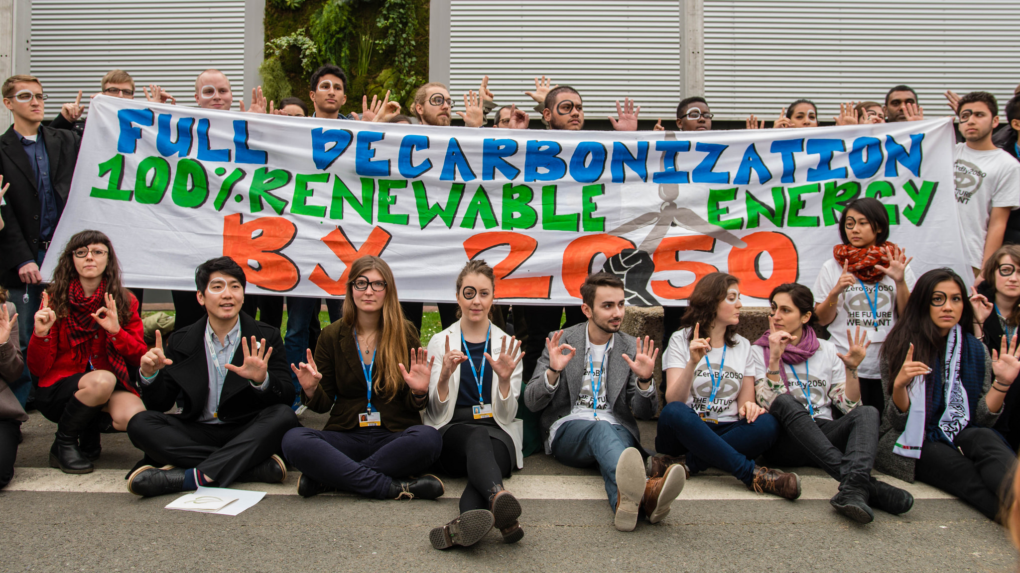 International Youth Action Calls for Ambitious Long Term Goal
